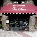 Fachada del Restaurante Del Arco Oviedo